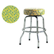 Pac-Man Yellow Barstool