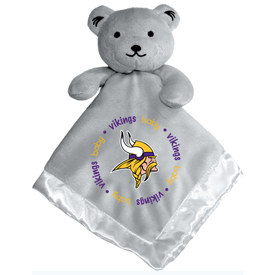 Gray Security Bear - Minnesota Vikings