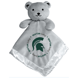 Gray Security Bear - Michigan State University