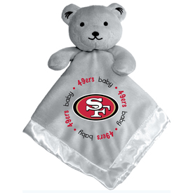 Gray Security Bear - San Francisco 49ers
