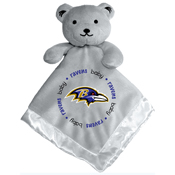 Gray Security Bear - Baltimore Ravens
