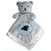 Gray Security Bear - Carolina Panthers