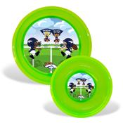 Plate & Bowl Set - Denver Broncos