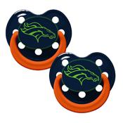 Pacifier (Bulk 6 Pack) - Denver Broncos