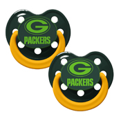Pacifier (Bulk 6 Pack) - Green Bay Packers