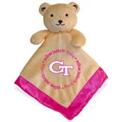 Security Bear - Georgia Tech Pink