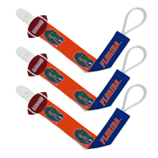 Pacifier Clip (3 Pack) - Florida, University of