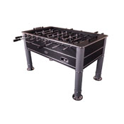 The Cosmopolitan Foosball Table in Black with 1 or 3 man Goalie option