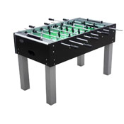 The Florida Outdoor Foosball Table in Black with both 1 & 3 man Goalie