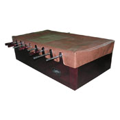 Foosball Table Cover in Brown