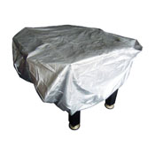 Outdoor Foosball Table Cover in Silver