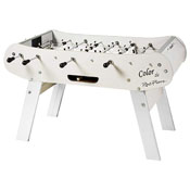 Ren Pierre Color Blanc Foosball Table in White