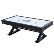 The X-Treme 7 foot Air Hockey in Black