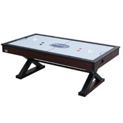 The X-Treme 7 foot Air Hockey in Walnut
