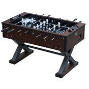 The X-Treme Foosball Table in Walnut
