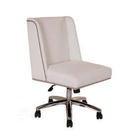 Boss Decorative Task Chair - White
