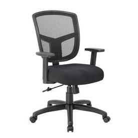 Boss Contract Mesh Task Chair, Synchro-Tilt Mechanism