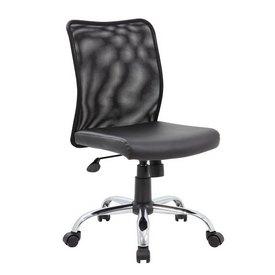 Boss Budget Mesh Task Chair, B6115C-CS
