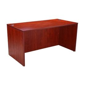 """Boss Desk Shell, 60""""W X 30""""D, Cherry"""