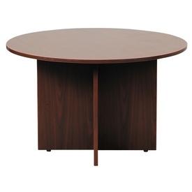 """Boss 47"""" Round Table, Mahogany"""