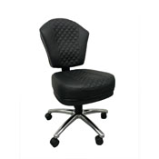 Boss Deluxe Black on Black Poker Chair