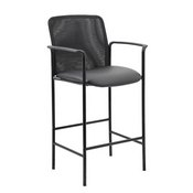 Boss Contemporary Mesh Counter Stool, Black