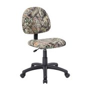 Boss Mossy Oak Deluxe Posture Chair