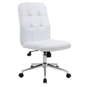 Boss Modern Office Chair - White