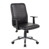Boss Retro Task Chair with Black T-Arms