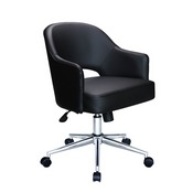 Black CaressoftPlus Hospitality Chair