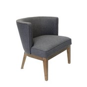 Boss Ava guest, accent or dining chair - Slate Grey