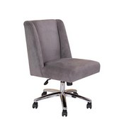 Boss Decorative Task Chair - Charcoal Grey