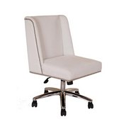 Boss Decorative Task Chair - White