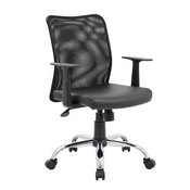 Boss Budget Mesh Task Chair W/ T-Arms, B6116C-CS