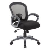 Boss Ergonomic Mesh Task Chair - Mid Back