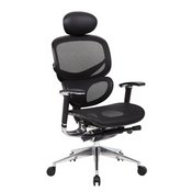 Boss Multi-Function Mesh Chair W/ Head Rest