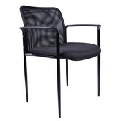 Boss Mesh Guest Chair, Black