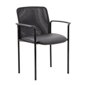 Boss Caressoft and Mesh Guest Chair, Black