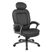 Boss Executive Pillow Top Chair W/ Headrest