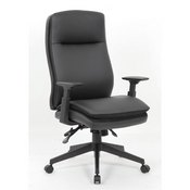 Boss Caressoft Executive High Back Chair w/ Adjustable Arms