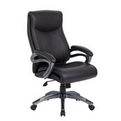 Boss Double Layer Executive Chair in Black