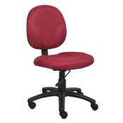 Boss Diamond Task Chair In Burgundy