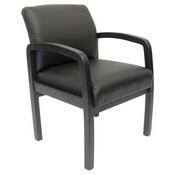 Boss NTR (No Tools Required) guest, accent or dining chair - Black