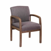 Boss NTR (No Tools Required) guest, accent or dining chair - Slate Grey
