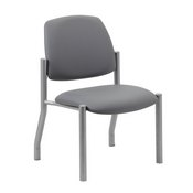 Boss Armless Guest Chair, 300 lb. weight capacity