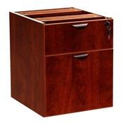Boss 2 Hanging Pedestal - 3/4 Box/File , Mahogany