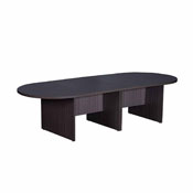 Boss 10Ft Race Track Conference Table - Driftwood