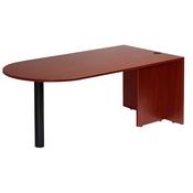 Boss Bullet Desk, Mahogany 71*35