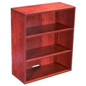 Boss Open Hutch/Bookcase- Cherry