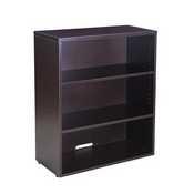 Boss Open Hutch/Bookcase- Mocha